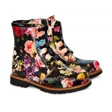 Ботинки (на шнурках и молнии) 144-9