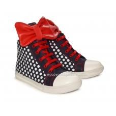 Ботинки (на шнурках и молнии) 2094